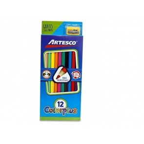 CREYONES ARTESCO COLORPLUS*12